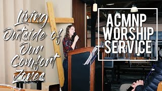ACMNP Worship Service at Jackson Hole: Living Outside of Our Comfort Zones
