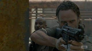 Walking Dead Season 8 Premiere - Rick's Countdown and Gun Battle