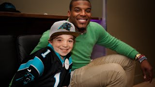 Lokai: Watch Noah's wish to meet NFL MVP Cam Newton come true