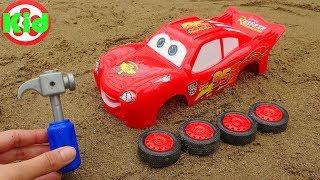 Lắp ráp xe ô tô đua Lightning Mcqueen - đồ chơi trẻ em B1246P Kid Studio