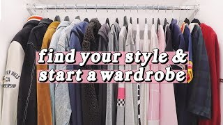 How to Find Your Style & Start a Wardrobe - YouTube