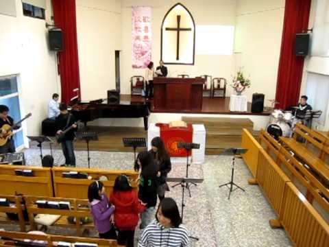 20130303華語禮拜敬拜讚美「不住感謝,不停讚美」,台中忠明教會。