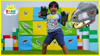 Giant Smash Surprise Jurassic World Dinosaurs Toys!!!