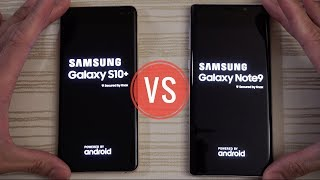 Samsung Galaxy S10 Plus vs Note 9 - Speed Test!