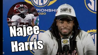 Najee Harris Interview after Florida | I'm a Rydeout