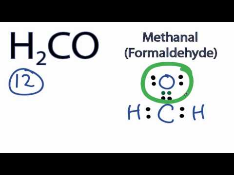 VIDEO: H2CO Lewis Structure: How to Draw the Lewis ... H2co Molecular Geometry