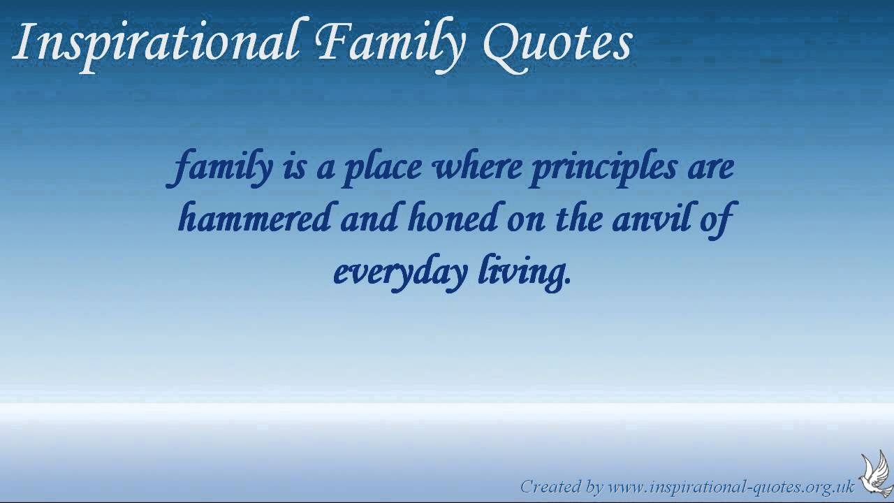 Quotes About Family Strength: Inspirational Family Quotes