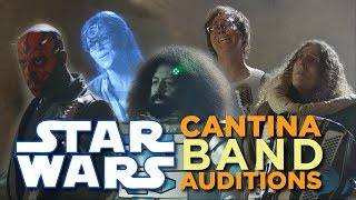 Star Wars Cantina Band Auditions