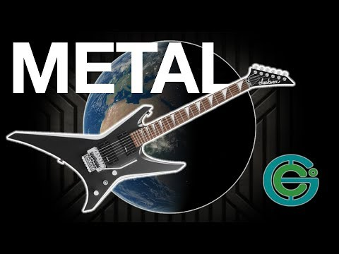 The Geography of METAL around the world  (Geography Now)
