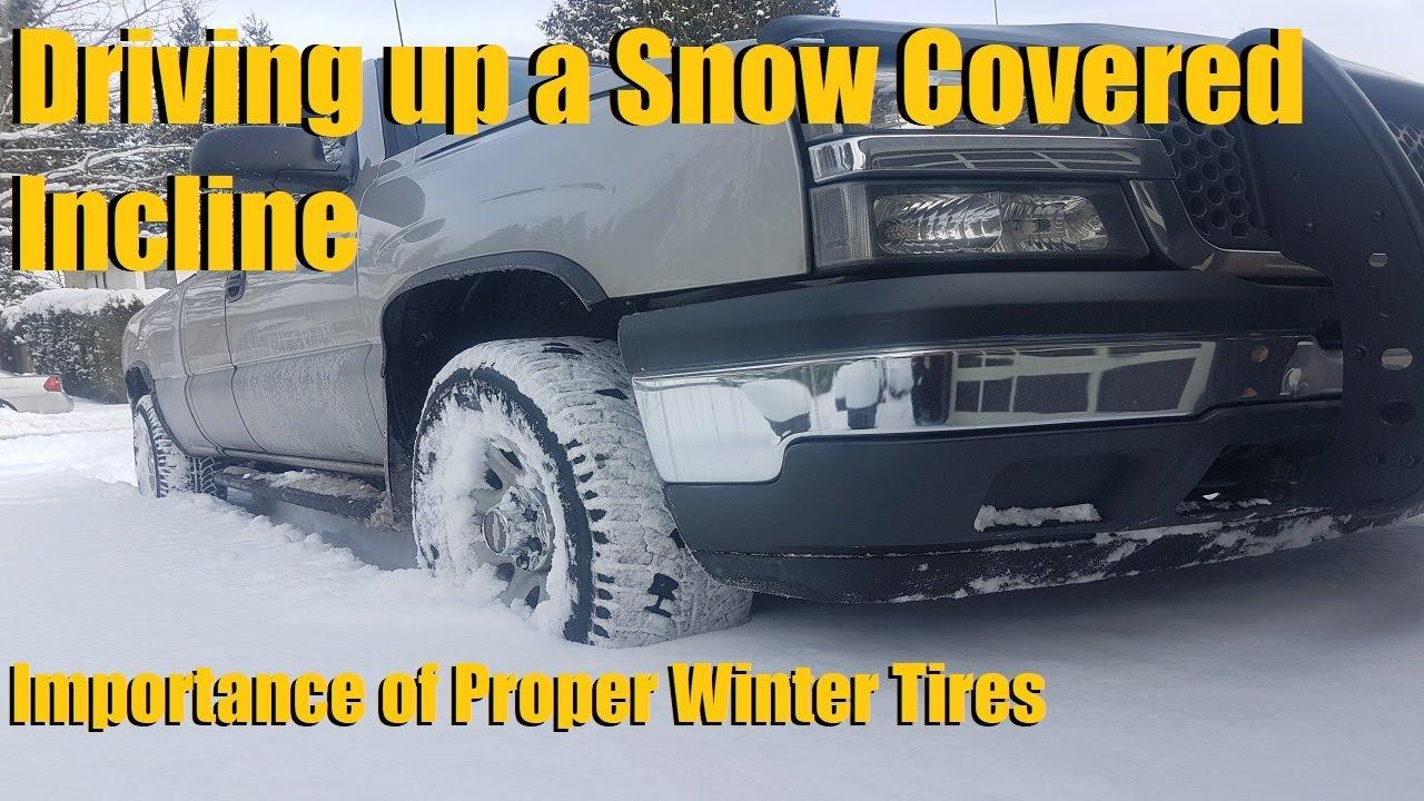 snow hill challenge 2wd vs 4wd all season vs snow tires youtube. Black Bedroom Furniture Sets. Home Design Ideas
