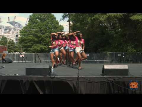 Alpha Kappa Alpha 2016 Atlanta Greek Picnic Stroll off (Official Video)