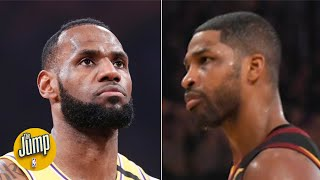 Did Tristan Thompson stare down LeBron too early? | The Jump