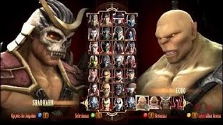 Mortal Kombat 9 BOSS Mod Purple Shao Kahn Ladder Expert