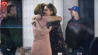 Savannah Guthrie and Hoda Kotb Hug Following Matt Lauer's Firing From 'Today'