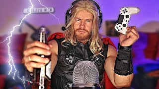 A Night with THOR Odinson ⚡ASMR ⚡ (Thunder, Beer & Games)