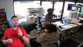 Bystander Uses Tool To Hold Bandit Until Police Arrive