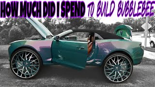 THIS IS HOW MUCH MONEY I PUT INTO MY CUSTOM CAMARO ON 32s