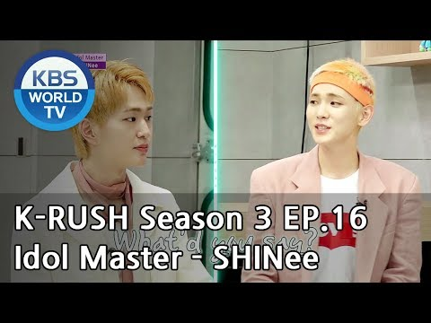 Idol Master - SHINee [KBS World Idol Show K-RUSH3 / ENG,CHN / 2018.06.29]