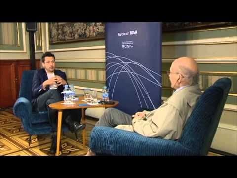 Scientist Marvin Minsky in conversation with filmmaker Kike Maillo