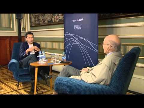 Scientist Marvin Minsky in conversation with filmmaker Kike Maillo