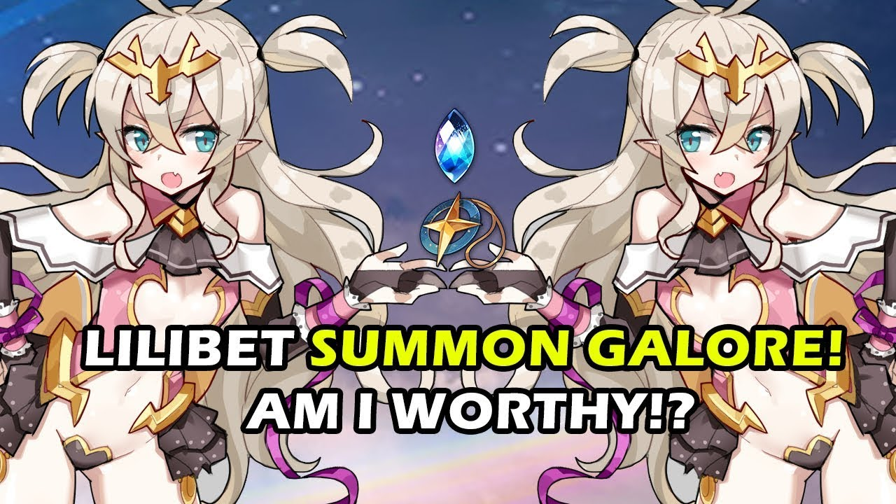 [Epic7] Epic Seven Lilibeth (Lilibet) Summon Galore! Going All In!!!