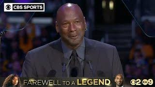 """When Kobe Bryant died, a piece of me died."" - Michael Jordan | CBS Sports"