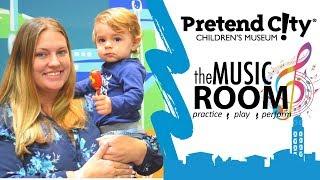The Music Room at Pretend City Children's Museum