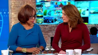 Gayle King and Norah O'Donnell respond to Charlie Rose allegations