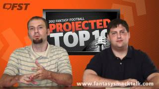 2012 Fantasy Football First Round Projections