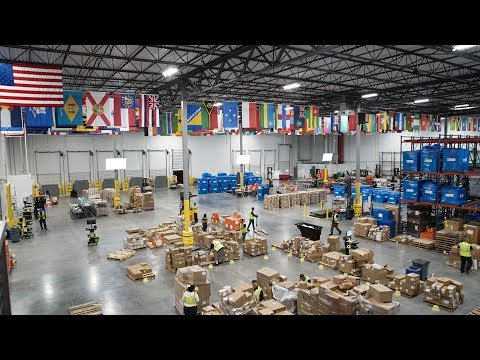 Direct Relief's new humanitarian distribution center allows Direct Relief to keep on hand medical aid needed to respond to natural disasters including hurricanes, earthquakes and wildfires, and is designed as an energy island, able to generate electrical power to run its operations for months in the event of a protracted grid shutdown.