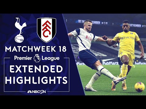 Tottenham v. Fulham | PREMIER LEAGUE HIGHLIGHTS | 1/13/2021 | NBC Sports