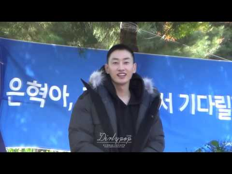 【DirtyPop1938】151013 Eunhyuk Enlistment
