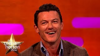 Luke Evans Fangirled Over Jennifer Aniston & Lisa Kudrow | The Graham Norton Show