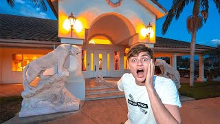 3AM HALLOWEEN MANSION CHALLENGE!! (PART 1)