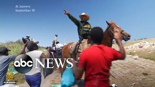 Biden: Border patrol agents' use of horses 'horrible' l WNT