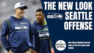 How Shane Waldron layered plays for the Seattle Seahawk offense