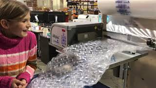 How Bubble Wrap is made  [CC]
