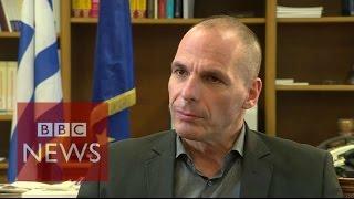 Greece debt crisis: '100% chance of success' says Varoufakis - BBC News