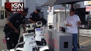 IGN News - Cops Called to Shut Down Ouya - E3 2013