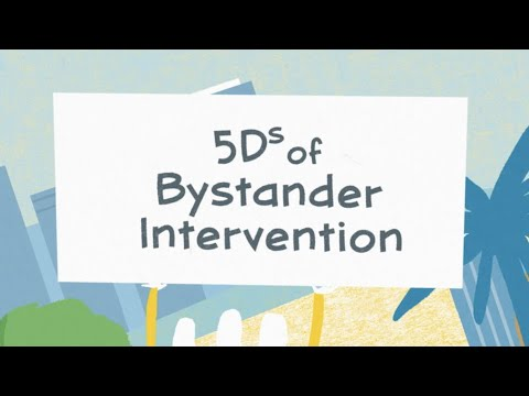 """The """"5 Ds of Bystander Intervention"""""""