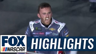 Austin Dillon Outlasts Jimmie Johnson in Fuel to Win at Charlotte | 2017 CHARLOTTE | FOX NASCAR