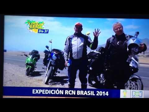 EXPEDICION RCN BRAZIL 2014 . CAFE COLOMBIA ABRIL 15_2014
