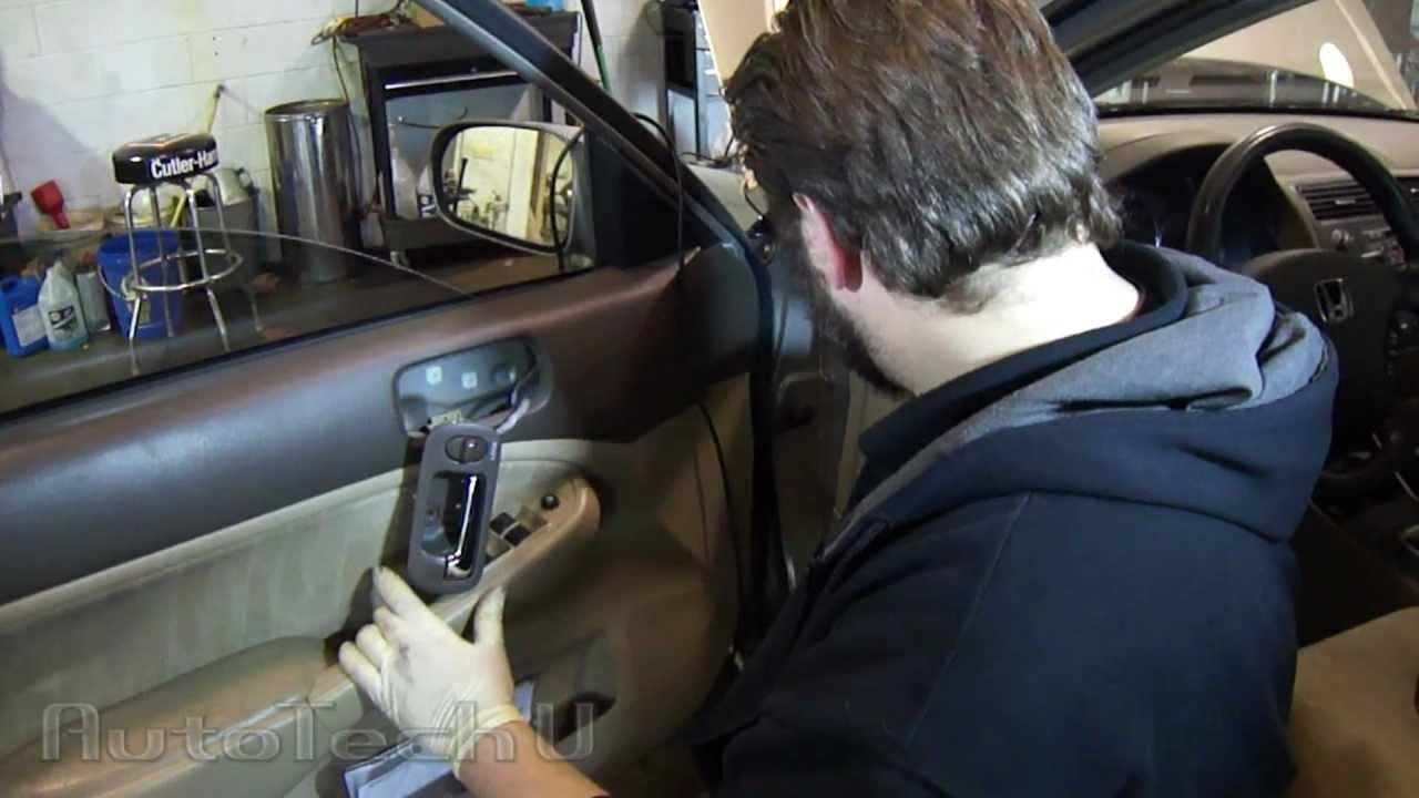 Honda Civic Power Door Lock Fix Episode 1 Youtube