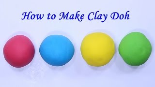 How to Make Playdough without Cream of Tartar and No Cook! Play doh   Kids Learning with fun
