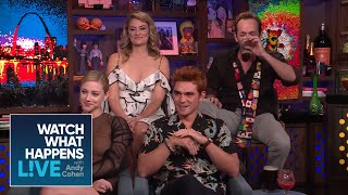 Which 'Riverdale' Star Gets The Most DMs? | WWHL