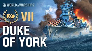 Armada in 90 seconds: Duke of York | World of Warships