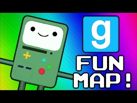 Gmod Adventure Map - 6 Challenges (Garry's Mod Sandbox Funny Moments) - VanossGaming  - -TW9PNZgnw8 -