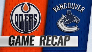 Rattie scores twice to lift Oilers past Canucks