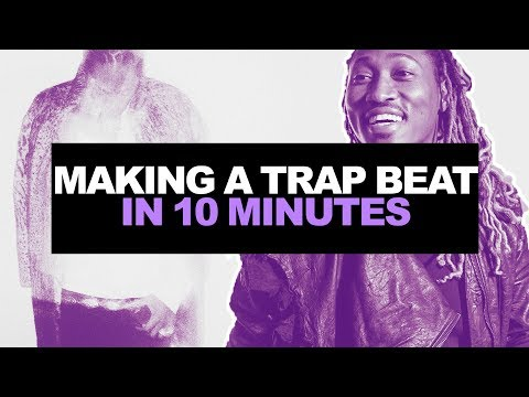 MAKING A HARD TRAP BEAT IN 10 MINUTES CHALLENGE #01 | Making A Beat From Scratch In FL Studio