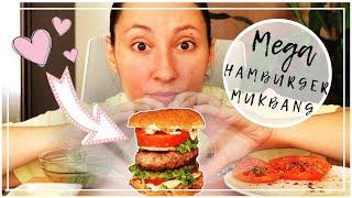 MEGA HAMBURGER MUKBANG EATING SHOW ITA - Credo di aver esagerato!